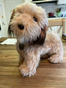 "Dakin 1978 Vintage Benji The Dog  Plush Stuffed Animal 12"" Collar & Tag"