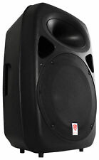 "Rockville 15"" Professional Powered Active 1500w DJ PA Speaker w Bluetooth USB"