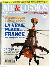 AIR & COSMOS du 14/03/1994; La france spatial et défense/  F/A-18 NASA/ Inde