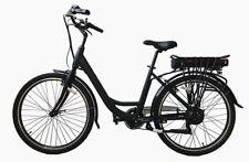 """Bicicletta Elettrica City Bike e-bike """"Nero Verde"""""""