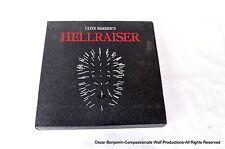 Hellraiser Laser Disk!  Clive Barker!  Signed!  1235 of 2500!  Very Limited!