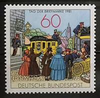 Bund BRD Michel Nr. 1112 Postfrisch** (1981) Tag d. Briefmarke 1981