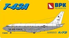 AIRCRAFT  BOEING 737-200 T-43A - 1/72 BPK 7205