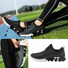 Men Running Sports Shoes Casual Tennis Shoes Breathable Air Mesh Sneakers size M