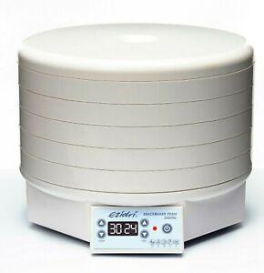 Ezidri FD500 Snackmaker Food Dehydrator / Food Dryer Digital EziDry 5 Tray D09-D