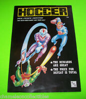 HOCCER By EASTERN MICRO INC 1983 ORIGINAL NOS VIDEO ARCADE GAME SALES FLYER