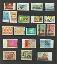 Complete Collection Set South Vietnam Unissued 20 Stamps  MNH