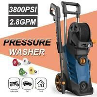3800PSI 2.8GPM Electric Pressure Washer High Power Cleaner Machine Sprayer