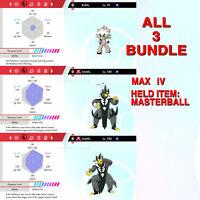 Urshifu (Both Forms) & Kubfu & BUNDLE 6IV Pokémon Sword Shield Isle Of Armor