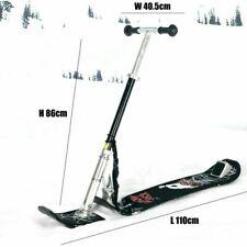 Snow Skate Board Aluminum Folding Ski Outdoor Portable Sleds All Mountain Tube