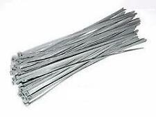 "12 x Silver/Grey Wheel Trims Security Ties 12""/13""/14""/15""/16""/17"" M17/5"