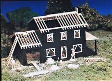 HO BACHMAN PLASTICVILLE #45004 - HOUSE UNDER CONSTRUCTION - NEW