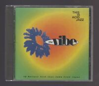 This is Acid Jazz: The Vibe by Various Artists (1994) Very Good CD