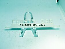 Plasticville Frosty Bar White Upper Sign O-S Scale
