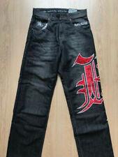 KALI KING jeans da uomo baggy hip hop larghi ricamati pantaloni lunghi kaliking
