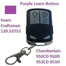 LiftMaster Garage Door Opener Remote Control Part Mini Purple Learn Button