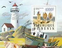 Leuchtturm Benin gestempelt 1932