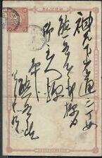 OLD USED POSTAL CARD