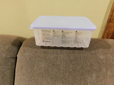 Tupperware Large FridgeSmart Container with Cool Blue Seal (#3995)