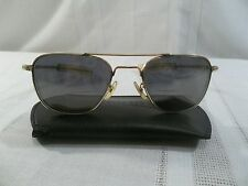 ~American Optical 12k Gold Filled Vietnam Era Aviator Sunglasses~