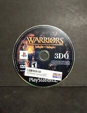 Warriors of Might and Magic (Sony PlayStation 2, 2001) PS2 Disc Only