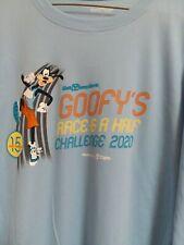 Run Disney 2020 Walt Disney World Marathon shirt Goofy Challenge men L Xl 2Xl