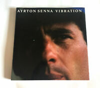 AYRTON SENNA Vibration JAPAN PHOTO BOOK 1994 Hardcover F1 F-1 GP
