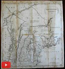 New Hampshire Vermont Maine belongs to Massachusetts Bay 1788 Conder map