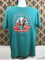 1994 Long Island Marathon Newsday Vintage Mens T Shirt XL 50/50 USA MADE