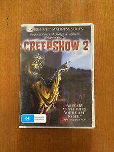 CREEPSHOW 2 (M) DVD REGION O OZ SELLER