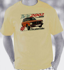 BMW 2002 Retro Brochure Style T-Shirt