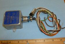 ADA-100 SPEAKER MUTING RELAY w/ WIRING CABLE & MICRO SWITCH (AVIATION)