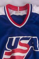 USA Hockey Team Jersey CCM Vintage Vtg Size M *g1018a4