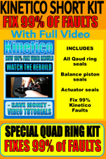 Kinetico Water Softener - Rebuild Kits - Unique Fix Kits - New Reduced Price