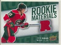 2007-08 Upper Deck Series 2 Rookie Materials Petr Kalus Minnesota Wild