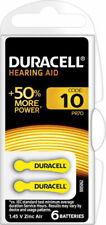 DURACELL Hörgerätebatterie EasyTab 10 PR70 1,4V 6er-Bli