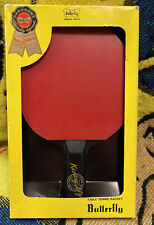VTG Butterfly Table Tennis Racket Kenny Style Soft D 13 W/ Box gentle used RARE