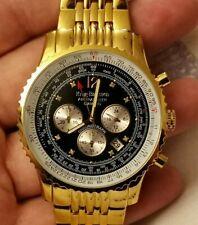 KRUG BAUMEN Mens Air Traveller Diamond Watch 600103DS                         *D