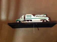 2001  Mini Hess Racer Transport. New. No Box