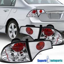 For 2006-2011 Honda Civic 4Dr Sedan Tail Lights Brake Lamp Replacement
