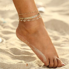 Barefoot Sandal Beach Foot Jewelry Fashion Crystal Anklets Chain Bracelet Women