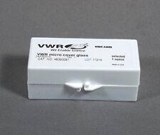 Box 24 x 50 mm VWR Microscope Slide Rectangular Cover Slips # 48393081
