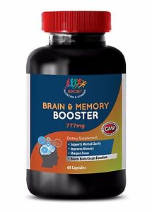 Boost Memory - Brain & Memory Support 775mg - Acetyl L Carnitine Supplement 1B