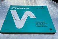 Parts List Teilekatalog für Honda GL1500C, F6C, Valkyrie, SC34, Teile Katalog