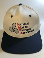 NATIONAL MARINE PROPELLER ASSOCIATION Cap Hat 100% Cotton Sanpback OSFM CB1