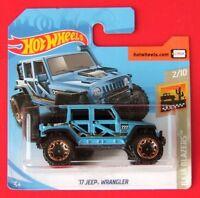 Hot Wheels 2019  ´17 JEEP WRANGLER  13/250 NEU&OVP