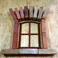803A Antik Stallfenster Stallgitter Dekoration Fenster Eisenfenster Weinkeller