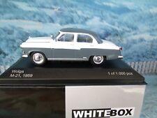 1/43  WhiteBox   Volga GAZ M21 1959  1 0f 1000