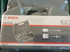 Bosch electrician HSS Bi Metal Holesaw Kit 9 Piece- Drilling DIY Saw -2608580804