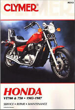 1983-1987 Honda Shadow VT 700 750 VT700 VT750 CLYMER REPAIR MANUAL M313